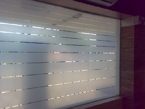 Frosted Glass Film Grace Plastics Chandigarh